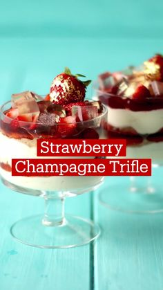 Trifle Desserts, Delicious Desserts, Yummy Food, Fun Baking Recipes, Cooking Recipes, Trifle Recipe, Desert Recipes, Food And Drink, Trifles