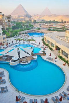 the hotel we will be at! You can see the pyramids from your hotel window and a walking distance to the Sphinx!