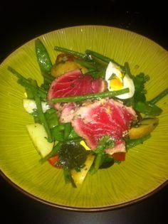 Nisoise Salad/ Fresh Tuna Tuna, Salad, Fresh, Cooking, Food, Kitchen, Eten, Atlantic Bluefin Tuna, Salads