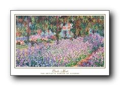 This beautiful Claude Monet garden at giverny picture art print poster will help to bring new color and life to any place in your home or office! It captures the image of beautiful flower garden which is sure to make this wall art focal point of your home. This beautiful wall poster will brighten up your room and make heads turn towards it. It will grab you many compliments from your guests. Hurry up! Order this poster for its excellent quality with high degree of color accuracy. Make your…