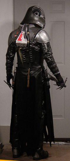 Lord Starkiller Costume by MyWickedArmor.deviantart.com on @deviantART