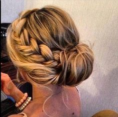 Love this braided up do