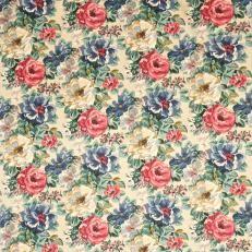 Sanderson Caverley Prints Midsummer Rose Fabric Collection DCAVMI202