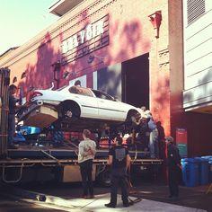 The Death of a Salesman set arrives at the theatre.    http://www.belvoir.com.au/productions-1/death-of-a-salesman
