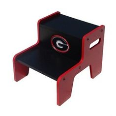 Georgia Bulldogs UGA Children's Wood Bathroom Step Stool