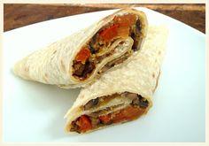 Penne im Topf: Weizenmehl Tortillas für Wraps
