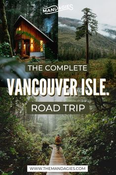 The Perfect Vancouver Island Road Trip Itinerary (All The Best Stops!) We're sharing the ultimate Vancouver Island road trip itinerary, including everything form surfing, hiking, the best beaches, and more in British Columbia! Road Trip Usa, Best Road Trips, Road Trip Canada, Canadian Travel, Western Canada, Vancouver Island, Along The Way, Pacific Northwest, Cool Places To Visit