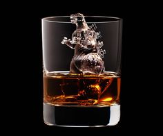 For Relaxing Times, See These Suntory Ice Cube Sculptures - Neatorama