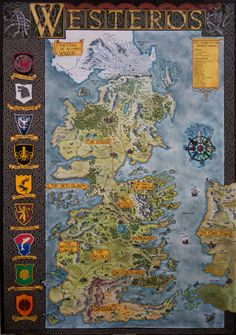 Ntligen pinterest songs city and gaming hand drawn westeros map complete and finished map by klaradoxiantart gumiabroncs Image collections