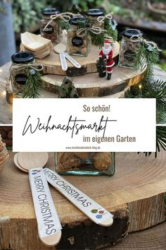 Merry Christmas, Christmas Diy, Diy Weihnachten, Place Cards, Santa, Place Card Holders, Table Decorations, Blog, Home Decor