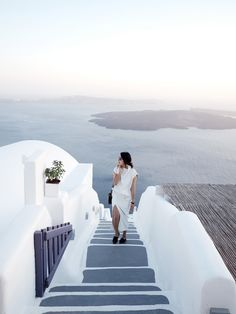 Find a beautiful place and get lost: a summer in Santorini: Heaven's closer than we thought.