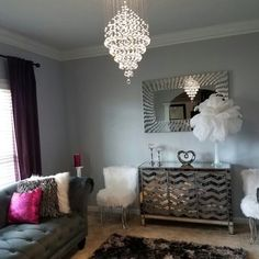 Image result for lighting suggestions for chesterfield sofa