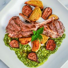 Thyme rubbed lamb loin chops | Recipes to Try | Pinterest