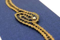 image 0 The Edge, Lace Bracelet, Bobbin Lace, Crystal Bracelets, Contemporary Design, Friendship Bracelets, Artisan, Jewelry Making, Crystals