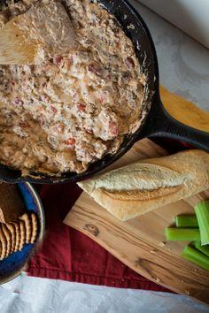 Skillet Sausage Dip + 64 Tailgating Recipes | A Joyfully Mad Kitchen