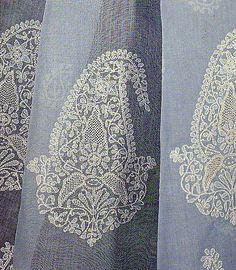 Chikan Embroidery of Lucknow, Uttar Pradesh