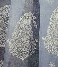 Chikan Embroidery of Lucknow, Uttar Pradesh