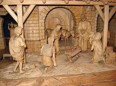 U Kožešníků Sedloňov betlém