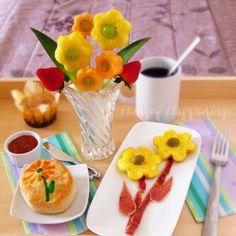 Café da manhã especial para o dia das mães - http://www.topreceitas.net/cafe-da-manha-especial-para-o-dia-das-maes/