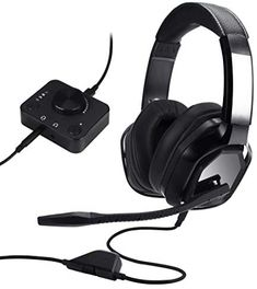 Amazon Basics Premium Gaming Headset for PC and Consoles (Xbox, PS4) with Desktop Mixer - Black New Things To Learn, Cool Things To Buy, Consoles, Xbox One Headset, Product Tester, Cool Small Tattoos, Cool Gadgets To Buy, Ps4, Mixer