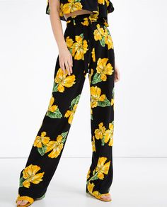 FLOWING TROUSERS-View All-TROUSERS-WOMAN-SALE | ZARA United States