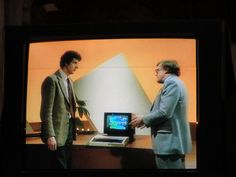 Chris Searle and Ian McNaught-Davis ('Mac') on The Computer Programme. by jabberwock, via Flickr