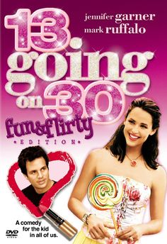 13 Going On 30 Fun and Flirty Edition DVD Jennifer Garner Mark Ruffalo Comedy Movies, Hd Movies, Movies Online, Movie Tv, 1990 Movies, Movie Theater, Movies Showing, Movies And Tv Shows, 13 Going On 30