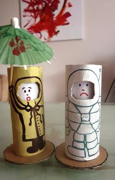 I think Claire and I will be making these later! It's so important for her to learn about emotions so she can label her own emotions. What a fun way to teach her! --Changing Faces - Toilet Roll Dolls