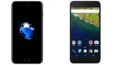 iPhone 7 vs Google Nexus 6P Subscribe! http://youtube.com/TechSpaceReview More http://TechSpaceReview.tumblr.com