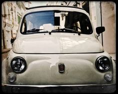 Vintage Fiat print via ItalianPop