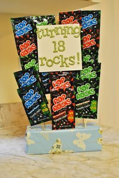 Turning 18 Rocks Pop Birthday Gift 18th Ideas For Girls Gifts