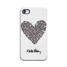 Heart iPhone 4/4S Case White by Case Scenario $34.95 now featured on Fab.