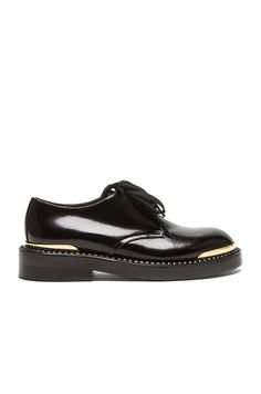 Lace Up Leather Oxfords