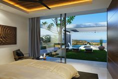 Aqua Samui Duo Villas Type E are 243 sqm villas with a large pool and outdoor terrace area for relaxing in and an initial offer price starting at just 14.9m Thai Baht