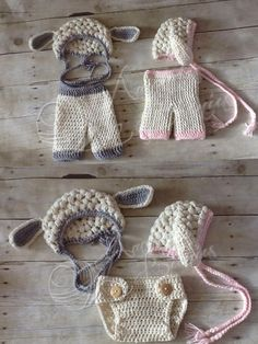 easter crochet lamb pant sets.  Facebook.com/amandasbeanies @Lisa Phillips-Barton Alexander-Kaput I think I found what Otis can wear for the Easter pictures!