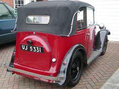 1935 Austin Seven Pearl Soft Top Cabriolet.