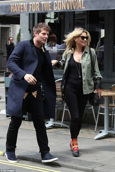 a899a2ce3a Kate Moss   Nioklai Von Bismarck from The Big Picture  Today s Hot Pics All  smiles! The supermodel is spotted leaving Balans restaurant with her  rumored ...