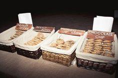 Rancho Santa Fe Wedding by Jackie Wonders + Enjet Media – Best Wedding Days Cookie Bar Wedding, Wedding Cookies, Wedding Desserts, Dessert Buffet, Dessert Bars, Cookie Display, Rustic Wedding, Trendy Wedding, Wedding Trends