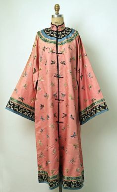 Robe, Chinese, late 19th century