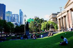Melbourne CBD, Victoria, Australia.