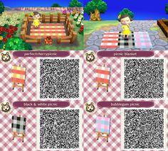 Animal Crossing Picnic Blanket Grey