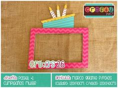 Marco gigante de Pastel - Cumpleaños mujer… Podemos personalizarla con cualquier tema! • Cake giant photo frame - Women birthday... We can personalize it with any party theme!