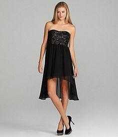 GB Sweetheart Sequin Dress | Dillards.com - Bridesmaid Idea!
