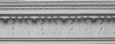 01-612-12 Large French Waterleaf Crown Molding | Worthington Millwork