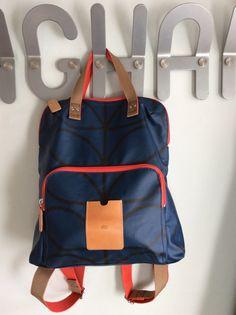 Orla Keilly blue rucksack