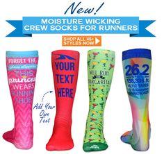 NEW Crew Socks Designed for Runners