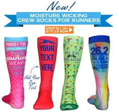 NEW Crew Socks Designed for Runners