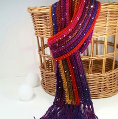 So Simple Scarf  By Claudia A. Lowman - Free Crochet Pattern - (ravelry)