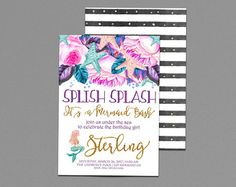 Image result for mermaid splash party