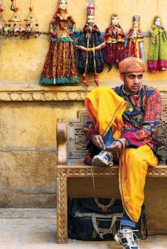 A disgruntled man in traditional Rajasthani costume – tying on his very modern sports shoes. Photograph by LPMI reader AnjanChanda.  We'd love to see your great photographs, too – send them to us at lpmagazine@wwm.co.in